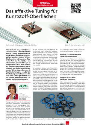 Sonderdruck Special Oberflächentechnik
